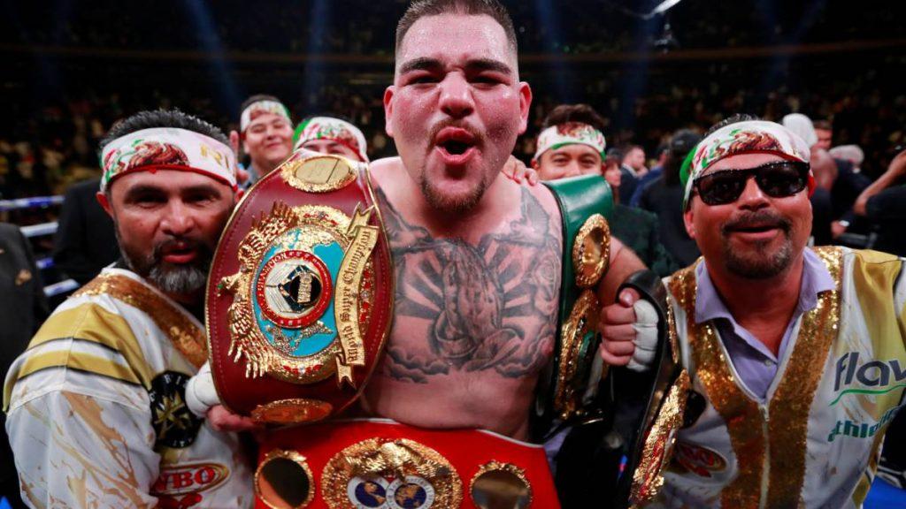 campeon de los pesos pesados andy ruiz, noticias boxeo, anthony joshua, pelea en directo, velada nueva york