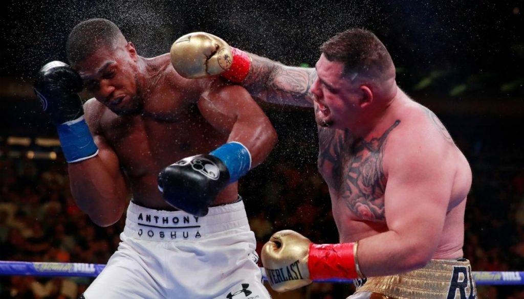 andy ruiz vs anthony joshua pelea combate boxeo noticias campeon de los pesos pesados, estados unidos