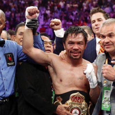 combate de boxeo, noticias de boxeo, pacquia gano combate contra thurman, velada, boxeadores