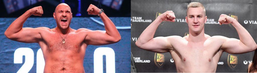 noticias de boxeo, fury vs wallin, pesos pesados, pelea, velada, entrenar boxeo