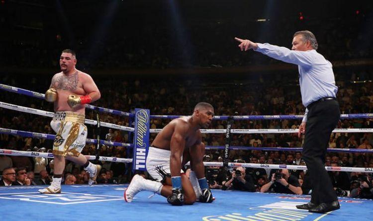 anthony joshua vs andy ruiz 2, noticias de boxeo pesos pesados, velada, combate, entrenar boxeo, cinturon de campeon, revancha